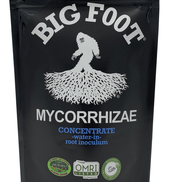 big foot mycorrhizae concentrate omri CDFA teaming with microbes